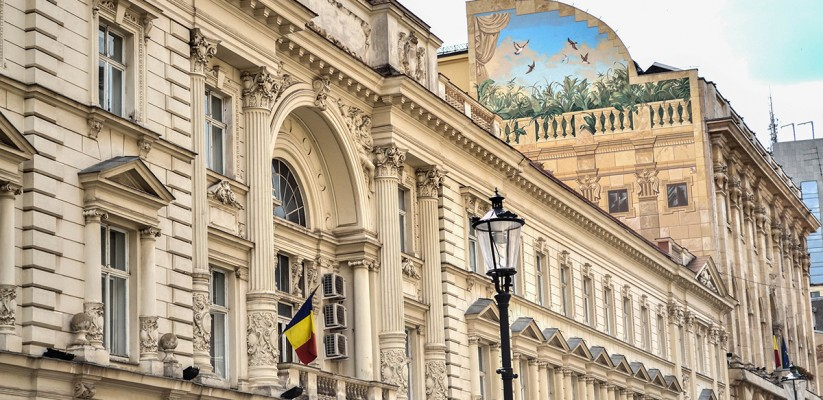 Bucharest Romania beautiful architecture