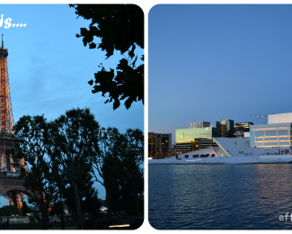 Double holiday to Paris and Oslo