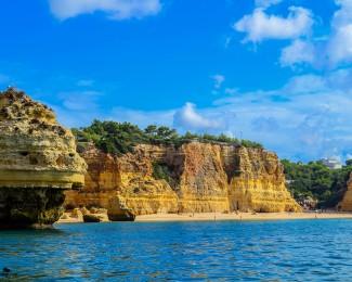 The beautiful Algarve beaches - Marinha
