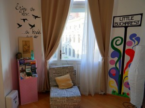 Little Bucharest Old Town Hostel common room