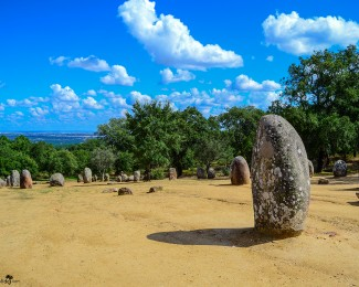 The Almendres Cromlech, a unique and unknown attraction in Portugal
