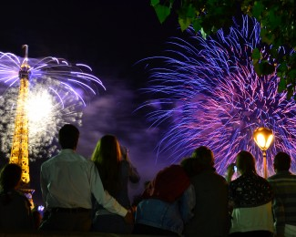 The best places to see the fireworks in Paris on Bastille Day
