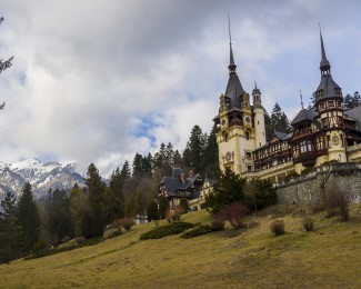 The most beautiful castle in Romania, the Peles Castle