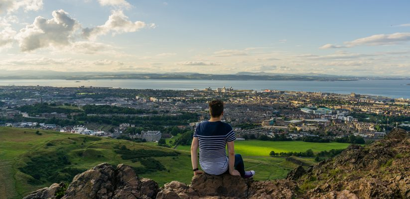 Edinburgh From Above