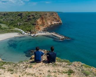 Gorgeous view over the Bolata Beach, Bulgaria
