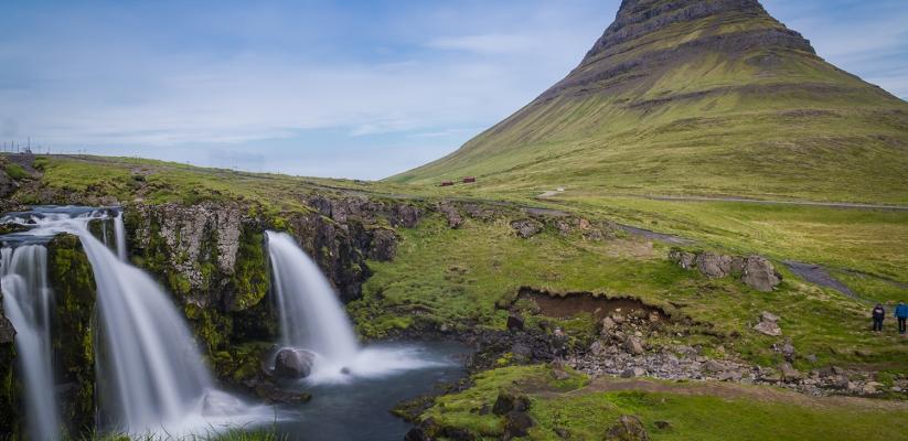 Snaefellsnes Peninsula Tour: Kirkjufellsfoss